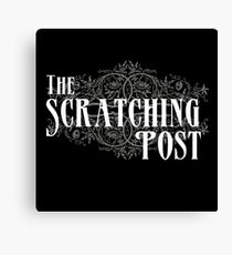The Scratching Post : Inspired by iZombie Canvas Print