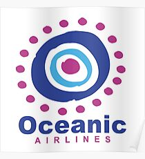 Oceanic Airlines : Inspired by Lost Poster