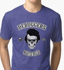 DEBUGGERS Color Parody Tri-blend T-Shirt