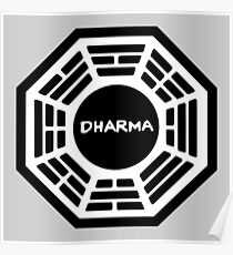 The Dharma Initiative : Inspired by Lost Poster
