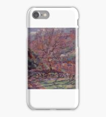 Crozand, Solitude, , Armand Guillaumin () (Art Paintings) iPhone Case/Skin