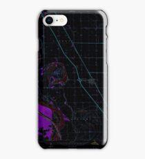 USGS TOPO Map Iowa IA Salix 175466 1964 24000 Inverted iPhone Case/Skin