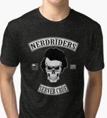 NERDRIDERS Color Parody Tri-blend T-Shirt