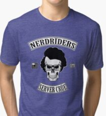 NERDRIDERS Color Parody Tri-blend T-Shirt