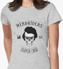 NERDRIDERS Color Parody Womens Fitted T-Shirt