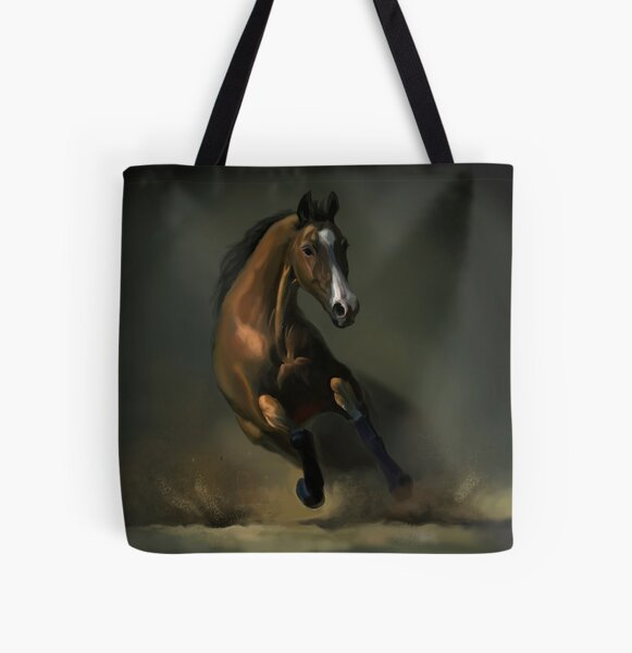 Horse All Over Print Tote Bag