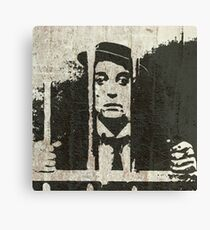 Buster Keaton - King of Silent Comedy Canvas Print