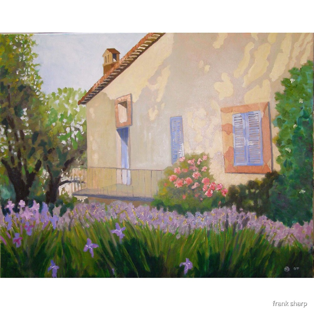 Cottage in Provence by frank sharp