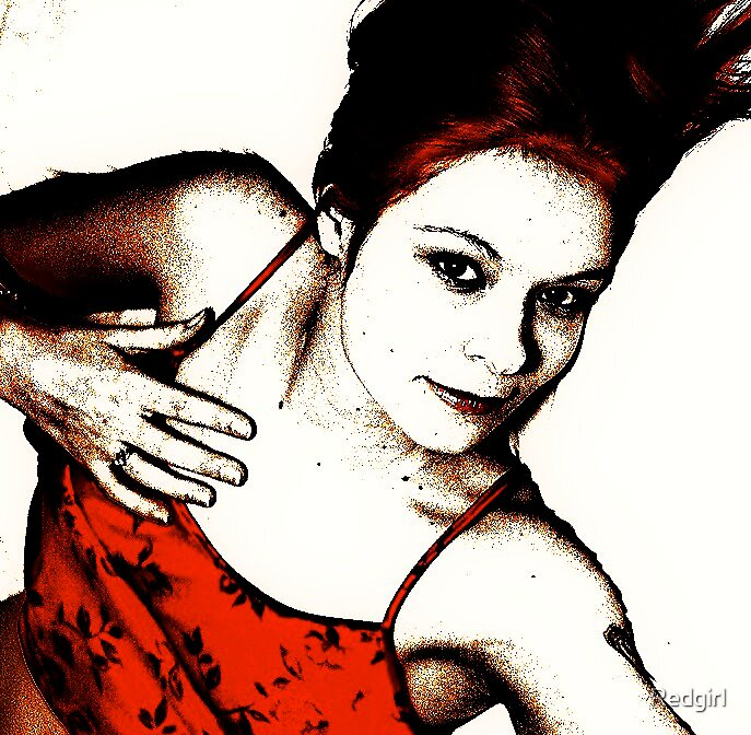 Self Portrait by Redgirl