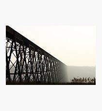 Lethbridge High Level Bridge Photographic Print