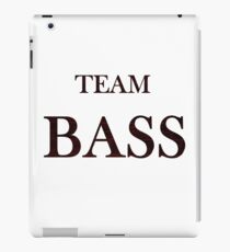 Team Bass iPad Case/Skin