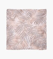 Shady rose gold palms Scarf