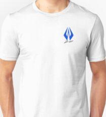 K.R Logo Signature - Blue T-Shirt