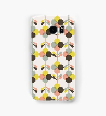Blooms in blush Samsung Galaxy Case/Skin