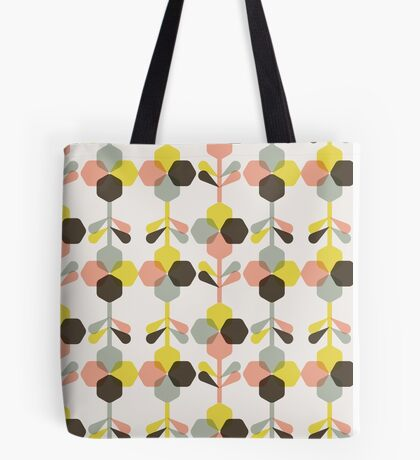 Blooms in blush Tote Bag