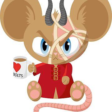 Burnscar the Rat Mummy by littlegemma