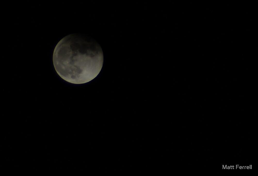 Lunar Eclipse by Matt Ferrell