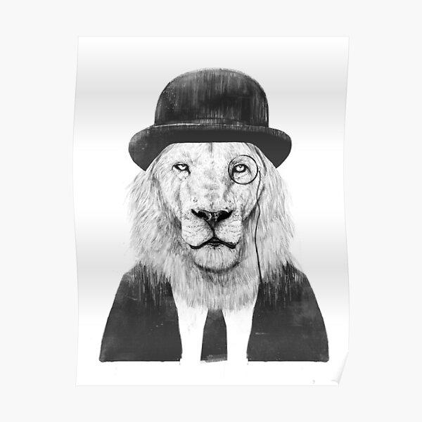 Sir Lion Poster