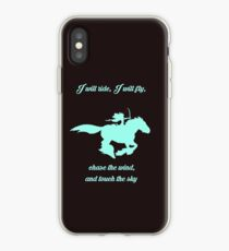 Chase the Wind iPhone Case