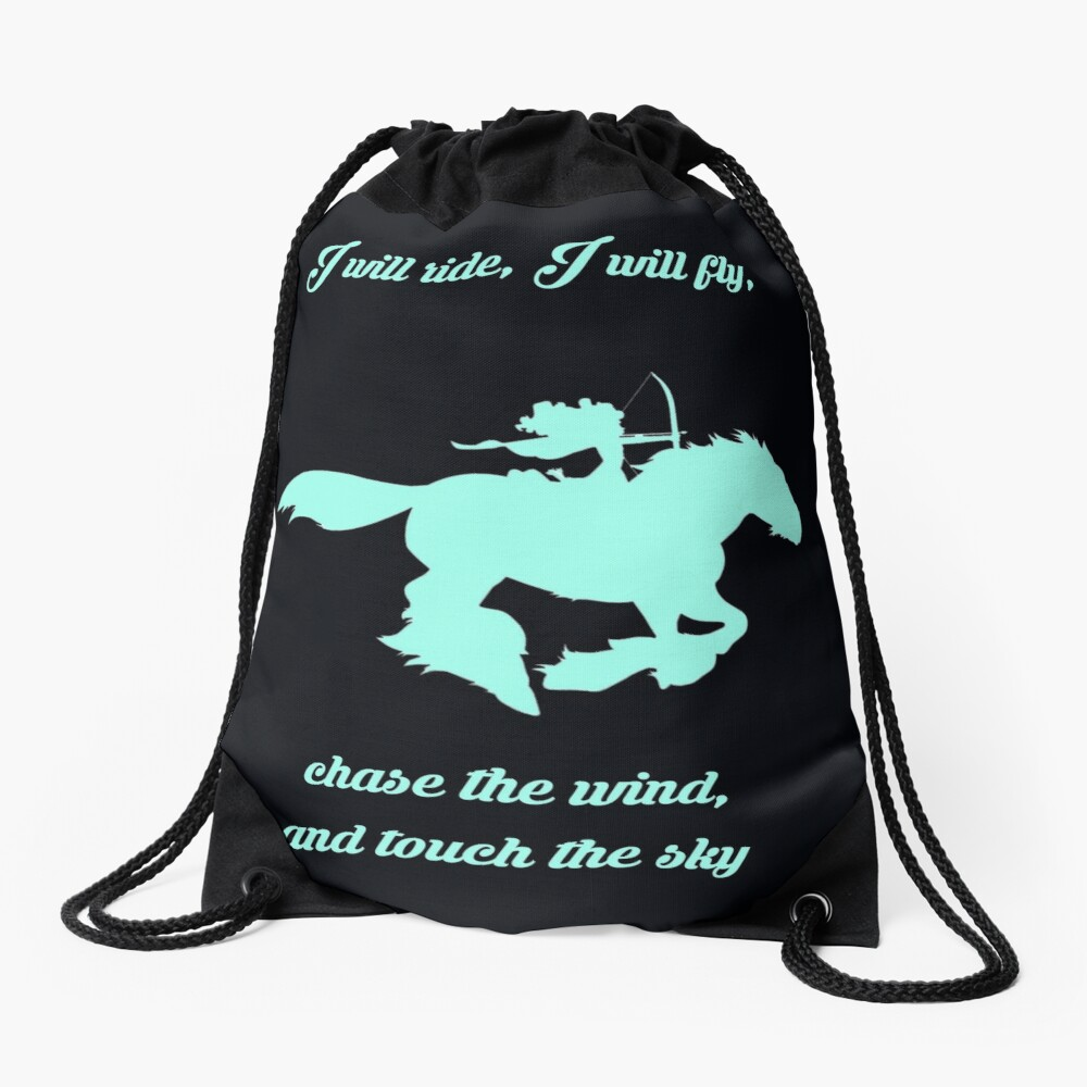 Chase the Wind Drawstring Bag