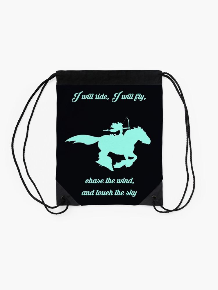 Alternate view of Chase the Wind Drawstring Bag