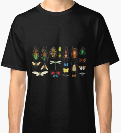 The Usual Suspects - Insects on grey Classic T-Shirt