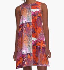Purple Passion A-Line Dress