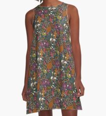 Cornucopia A-Line Dress