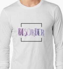 Disorder Typography Long Sleeve T-Shirt