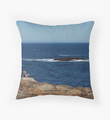Watch this space Throw Pillow