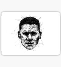 Wentworth Miller Sticker