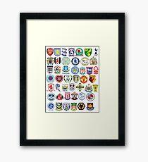 Football teams Framed Print