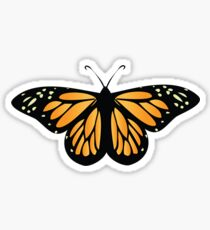 Colored butterfy 6 Sticker