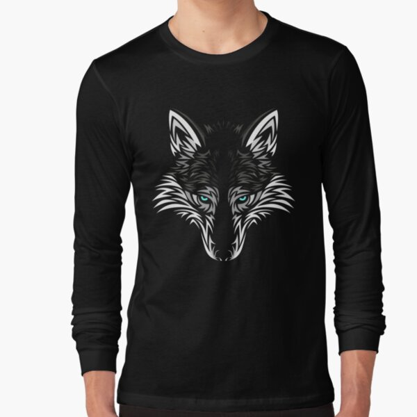 Queen of Cases Tropical Feathers Tribal Mens Longsleeve Tee
