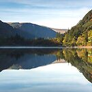 Glendalough Reflections by Derek Smyth