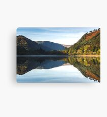 Glendalough Reflections Canvas Print