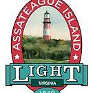 Assateague Island Lighthouse  by James & Laura Kranefeld