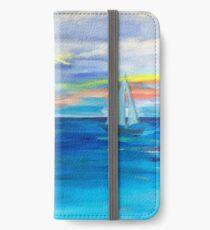 ,Nova Scotia Sea iPhone Wallet/Case/Skin