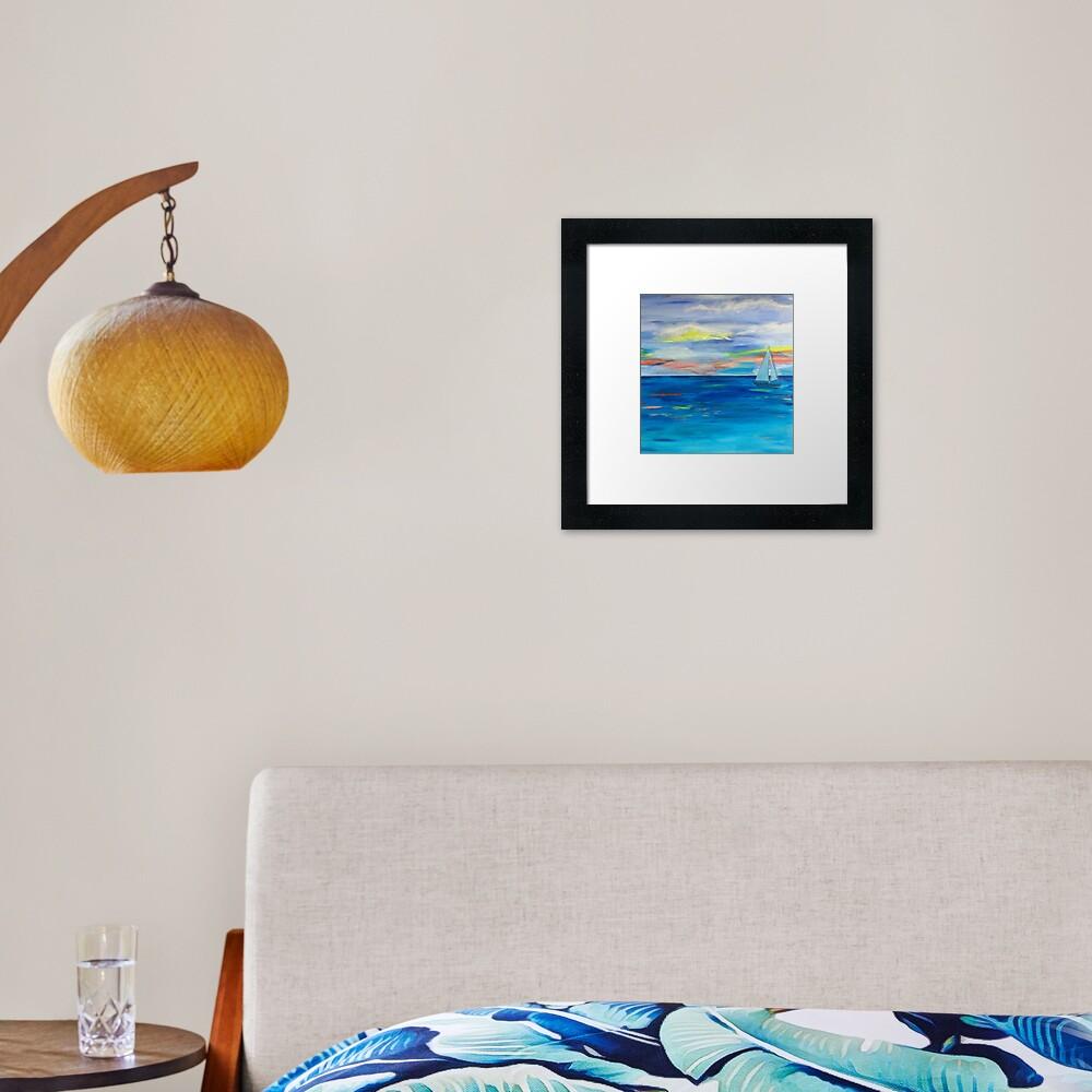 ,Nova Scotia Sea Framed Art Print