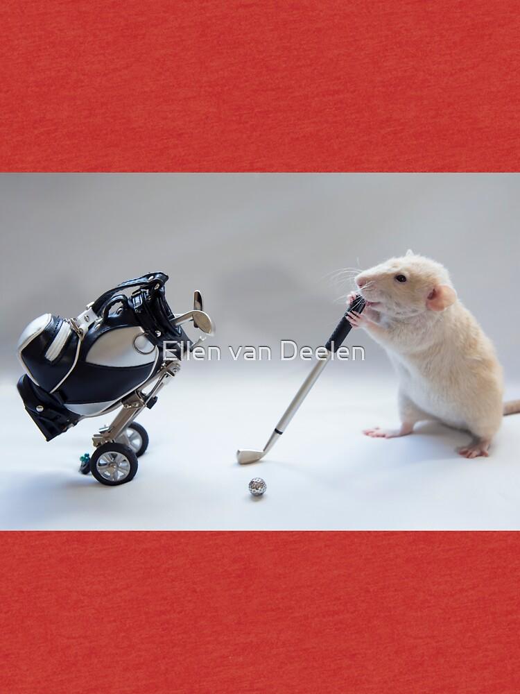 I love golf! by Ellen