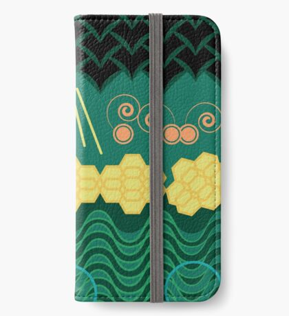 Rainforest HARMONY pattern iPhone Wallet