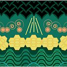 Rainforest HARMONY pattern by Daniel Bevis