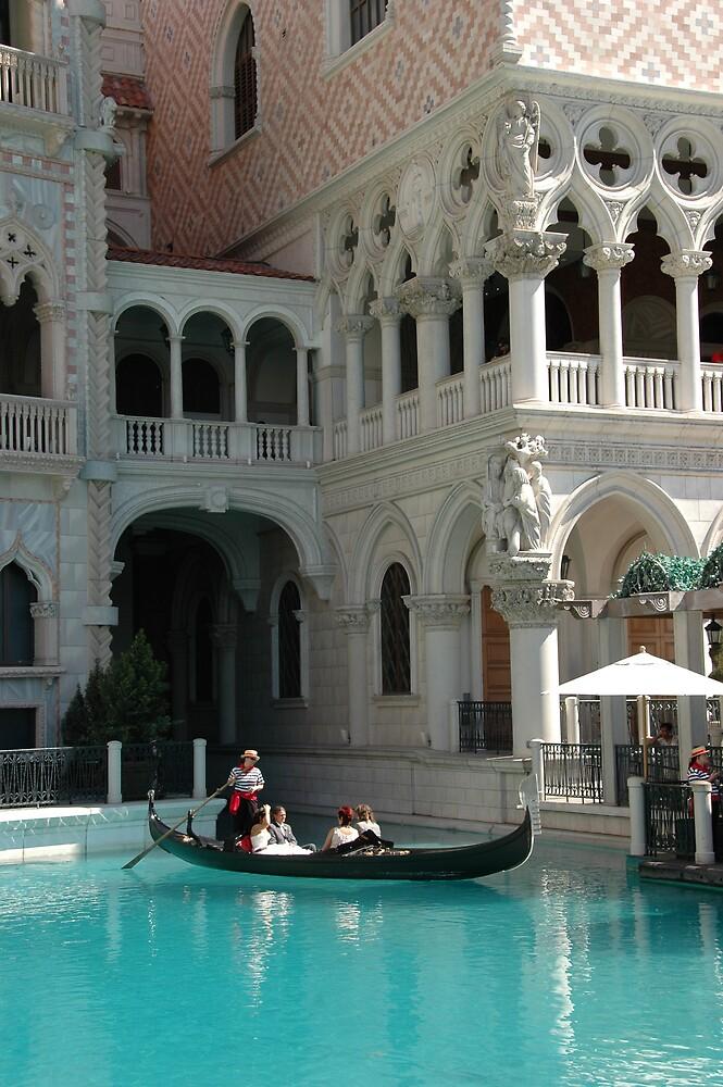 The Venetian Hotel, Las Vegas by bertspix