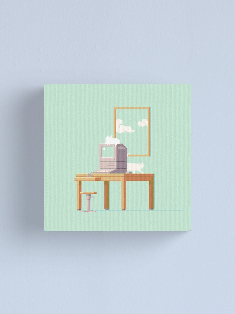 Alternate view of Computer Canvas Print