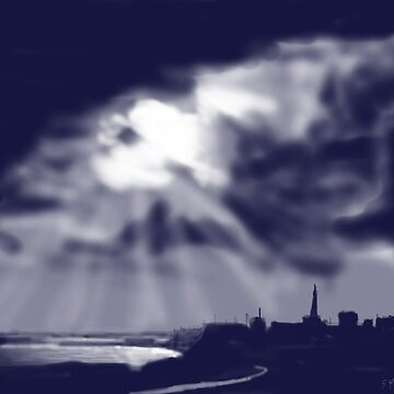 """Storm over Bridlington Bay"" by GlennMarshall"