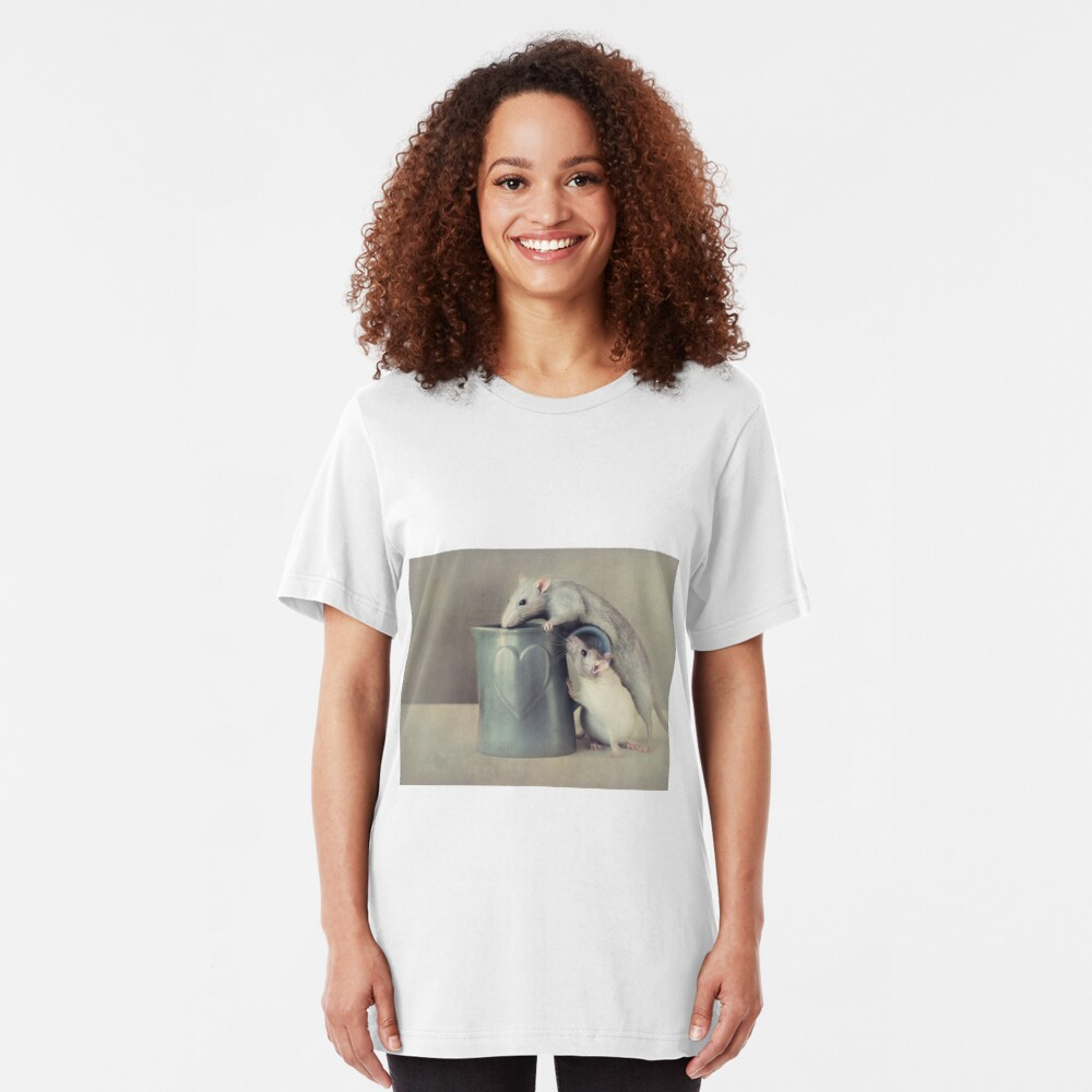 Jimmy and Snoozy Slim Fit T-Shirt