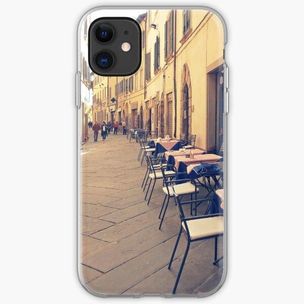 Tuscany. Italy. Cortona. Old city iPhone Soft Case