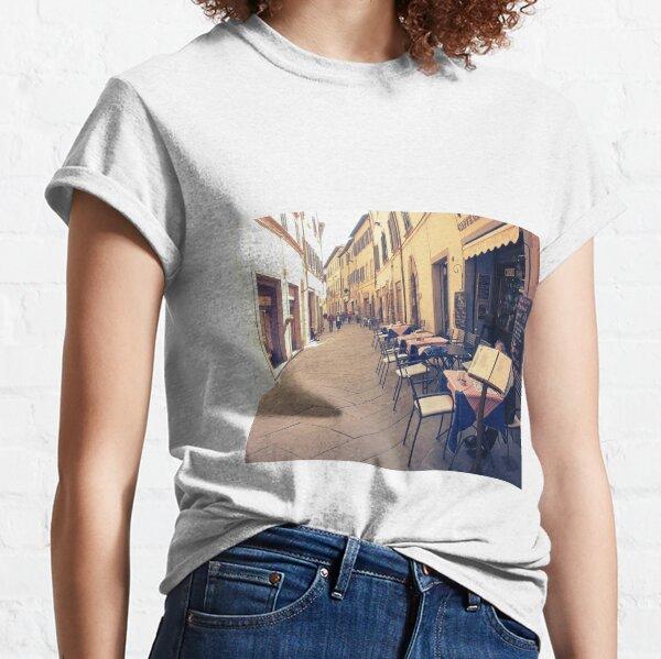 Tuscany. Italy. Cortona. Old city Classic T-Shirt