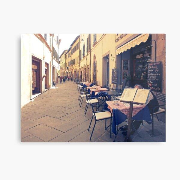 Tuscany. Italy. Cortona. Old city Metal Print