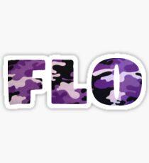 NoFlo Purple Camo Sticker
